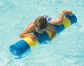 Pool Foam Toy, Water-Roll