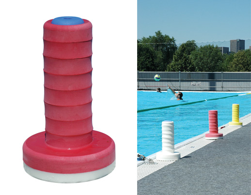 Ensemble de marqueurs de water-polo
